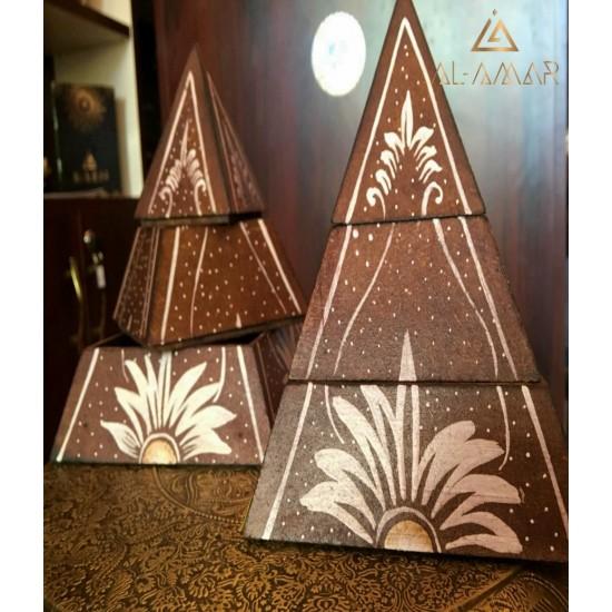 Кутия за бижута на три нива Пирамида | Отлична цена от Al-amar.bg